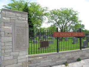 St Boniface Cemetery by Richard Fischer