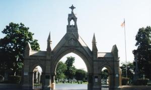 Calvary Cemetery by Dennis Deel