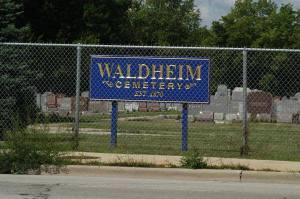 Waldheim Cemetery by NA