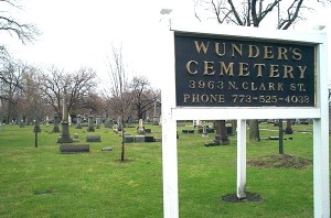 Wunder's Cemetery Chicago Illinois