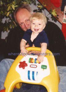 Grandpa and me watermarked