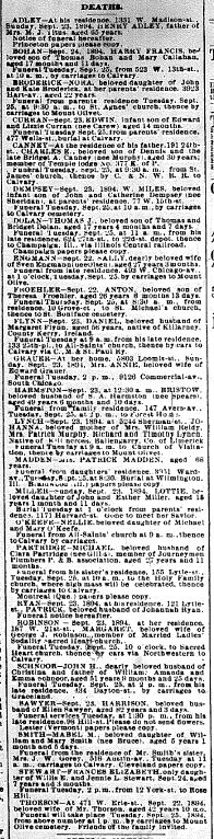 Chicago Daily News September 24, 1894 pg 6
