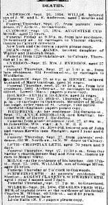 Chicago Daily News September 26, 1894