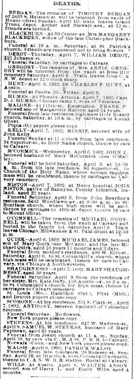 Chicago Daily News April 8, 1892