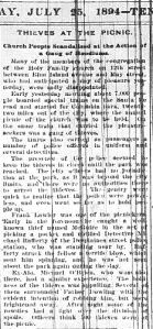 Chicago Daily News July 25, 1895 pg 1