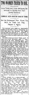 Chicago Daily News August 15, 1894 pg 1