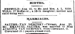 Chicago Daily News August 25, 1894 pg 6