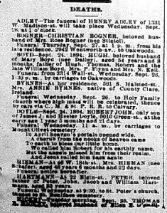 Chicago Daily News September 25, 1894 page 7 part 1 of 2
