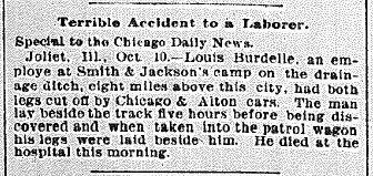 Chicago Daily News October 10, 1894 pg 1