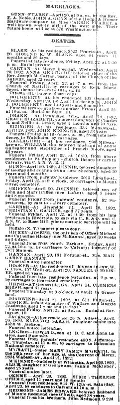 Chicago Daily News April 21, 1892 pg 8