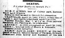 Chicago Daily News April 30, 1892 page 6