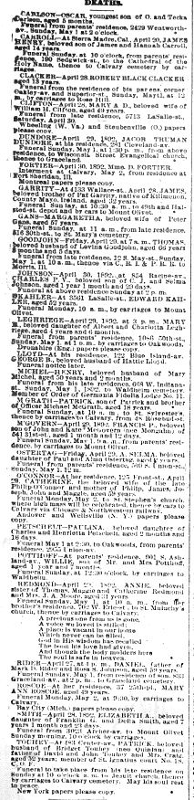 Chicago Daily News April 30, 1892 page 7