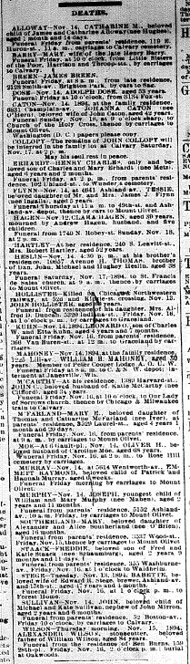 Chicago Daily News November 15, 1894 page 9