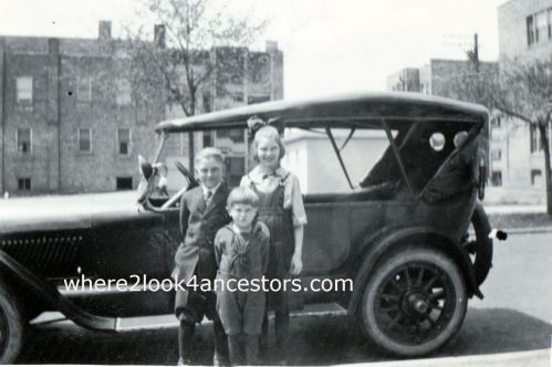 Harriette, Earl and Oliver Tolf circa