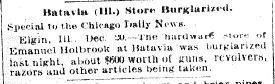 Chicago Daily News December 20, 1894 pg 1