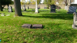 Could those be the headstones of my 2nd great-grandparents?