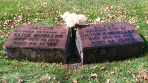 Jacob and Elise have been cared for by a descendant.