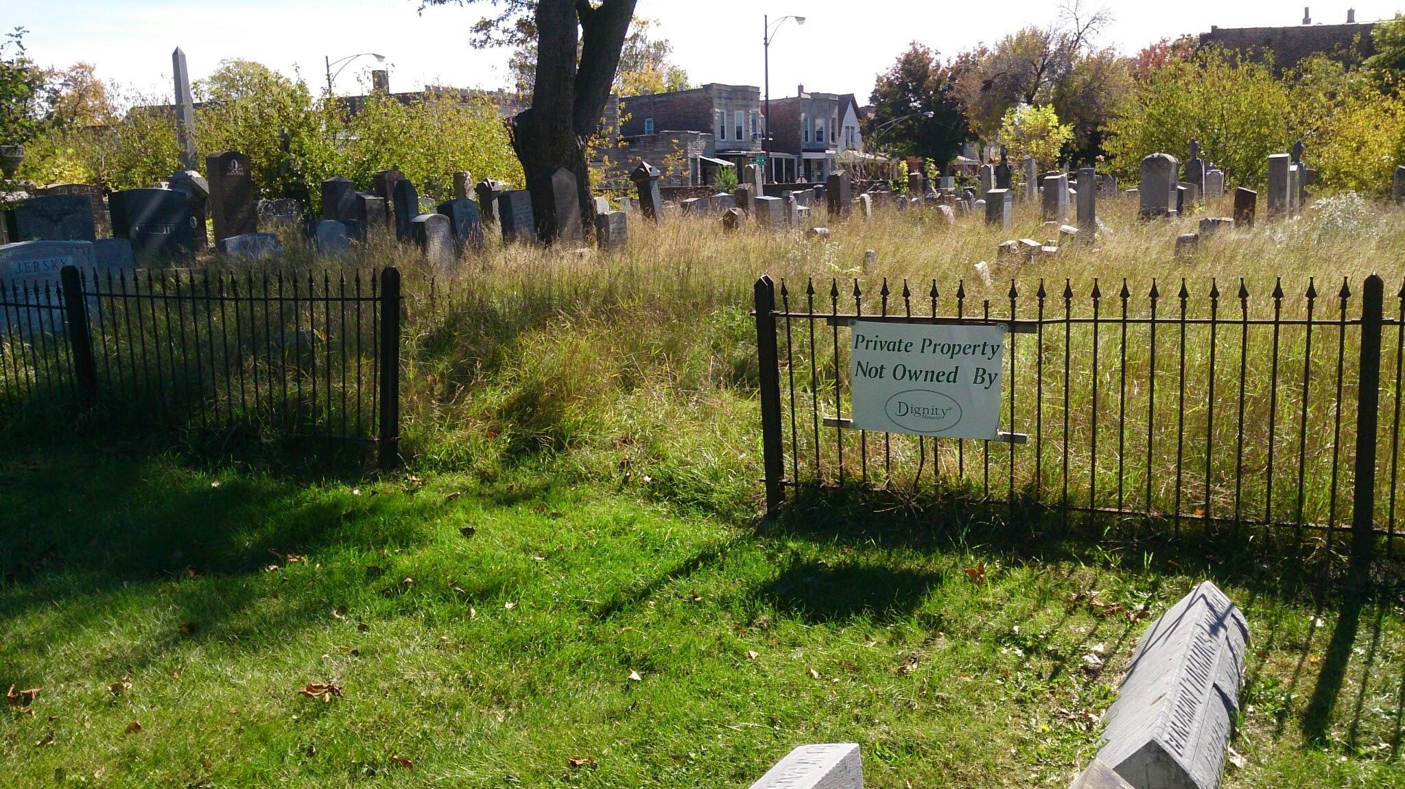 Oak Woods Cemetery Jewish Cemetery in Oak Woods