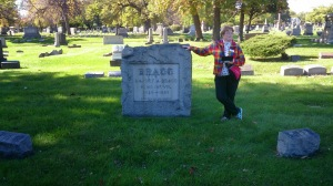 CAF Tour Guide at Oak Woods Cemetery