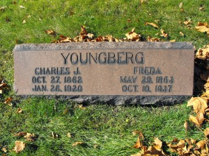 Charles and Freda (nee Tolf) Youngberg