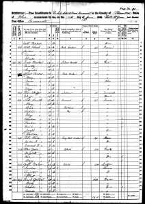 1860 US Census OH Schmitt, Mathilda