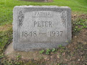 Peter Swanson 1848 to 1937