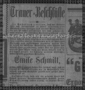 1898 11-15 Obit Emile Schmitt WM
