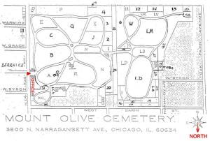 2015 04-27 Mount Olive Map
