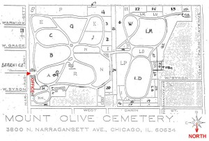 2015 04-27 Mount Olive Map