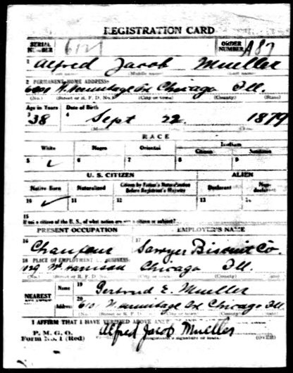 2015 05-29 WWI draft registration