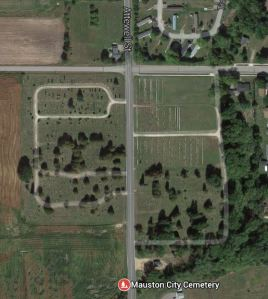 2015 06-09 Mauston Cemetery satellite view