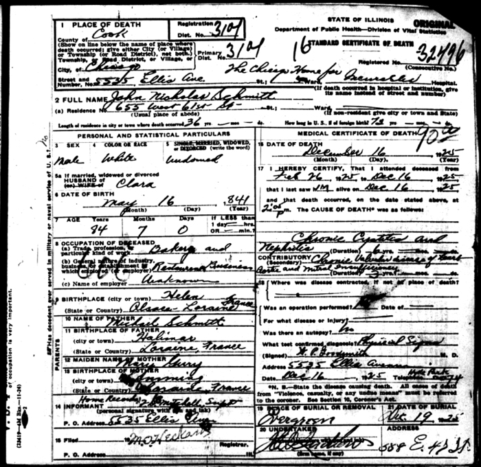 DC John Nicholas Schmitt