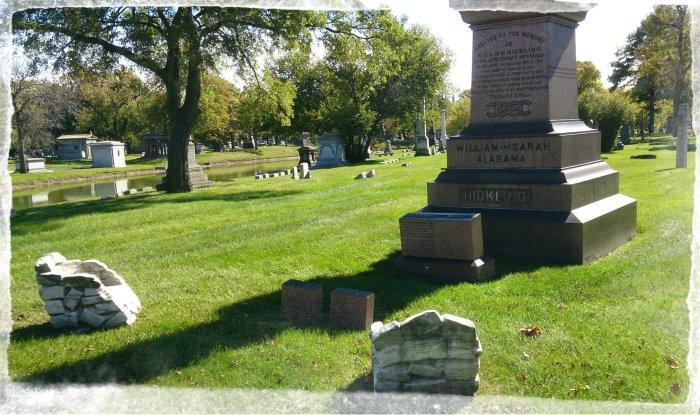 Oak Woods Cemetery October 2014