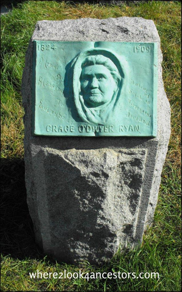 2016 01-12 Calvary Cemetery Evanston Grace O'Dwyer Ryan