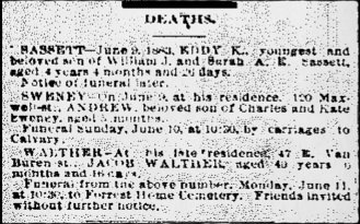 2016 06-05 CDN 1883 06-09 Sunday's Obituary