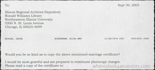 2003 to IL RE Mueller-Biedenharn marriage cert