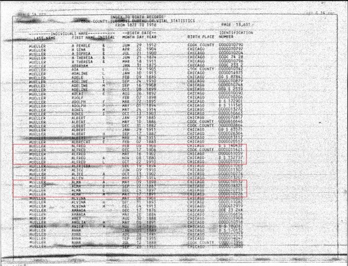 1871-1916 Index to Birth Records pg 13651 WM
